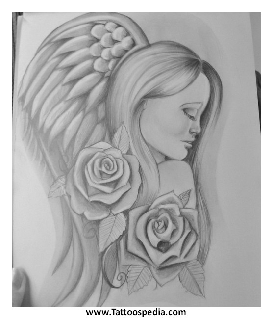 virgo angel tattoo designs images galleries with a bite. Black Bedroom Furniture Sets. Home Design Ideas