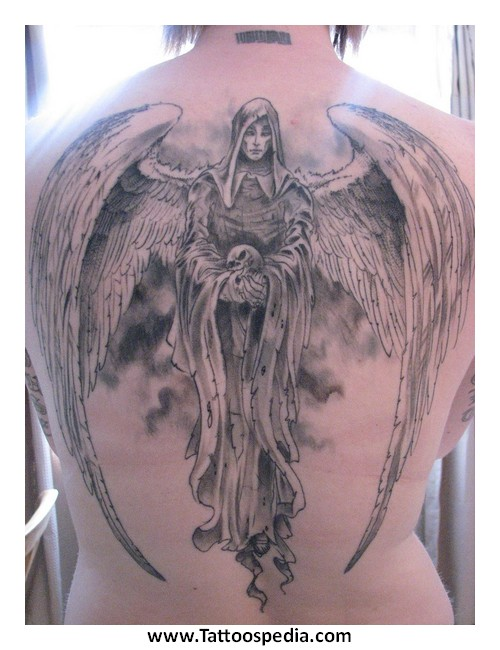 Death And Angel Tattoos 3 |