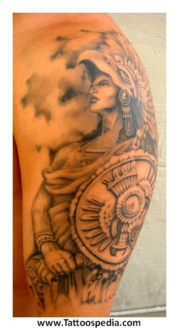Aztec tattoo meaning warrior 3 for Aztec lion tattoo meaning