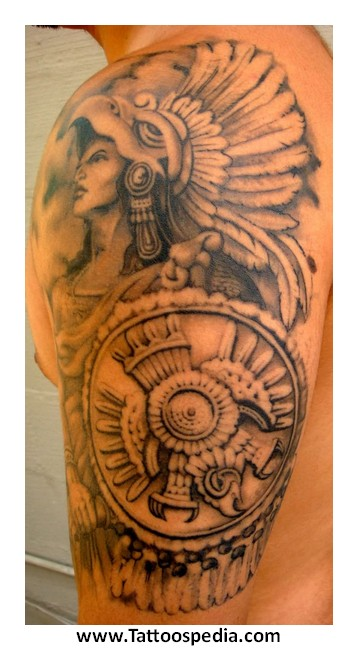 Aztec tattoos for Aztec tattoos sleeve