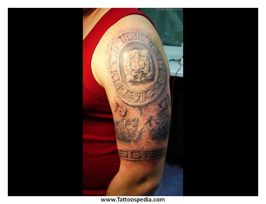 Aztec tattoos designs and meanings 1 for Aztec lion tattoo meaning