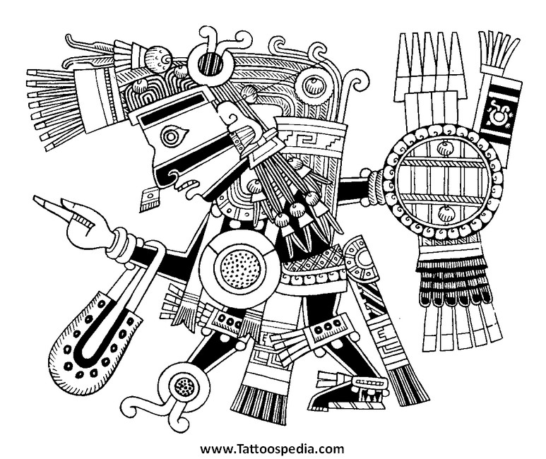 Mexican Symbols For Strength
