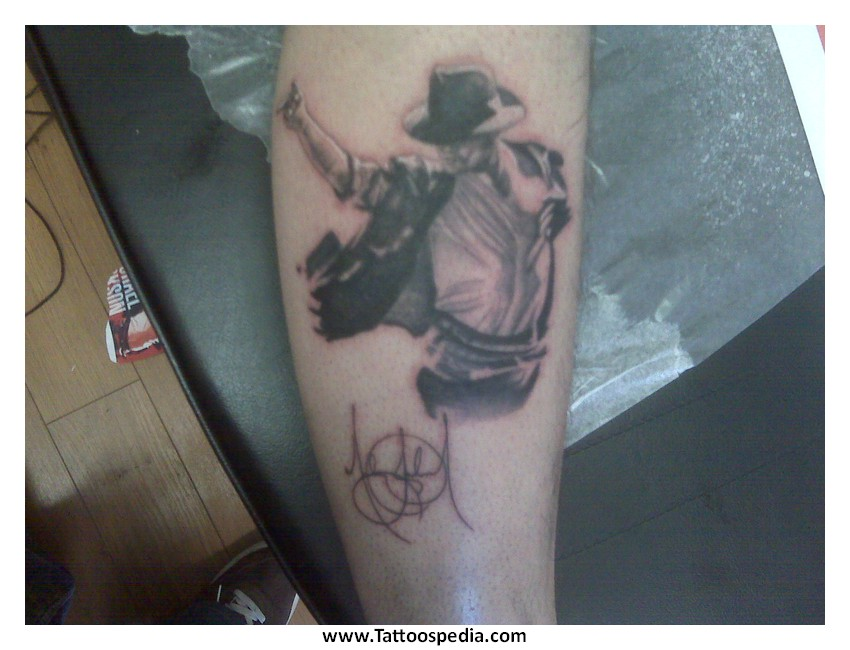 bad tattoos michael jackson 1