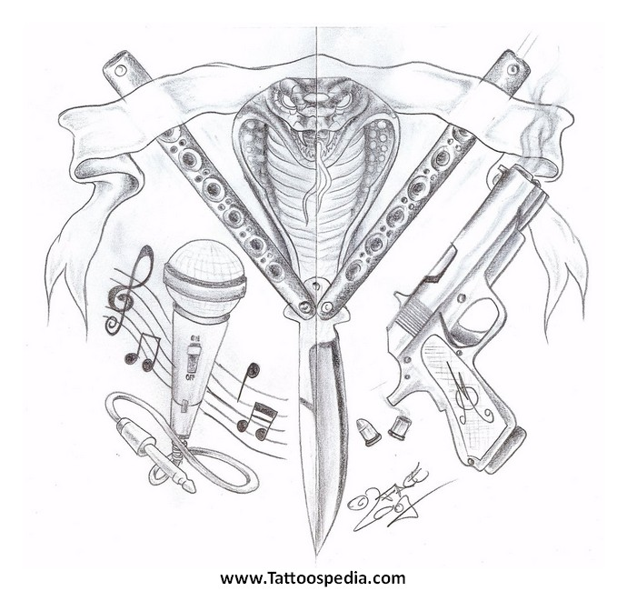 butterfly knife coloring pages - photo#15