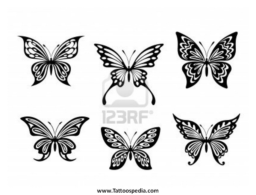 Butterfly Designs Black And White | www.pixshark.com ...