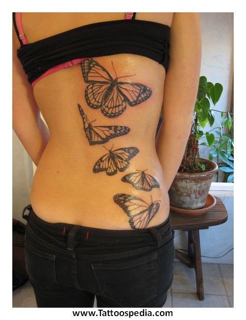 Butterfly Tattoo Designs On Arm 5