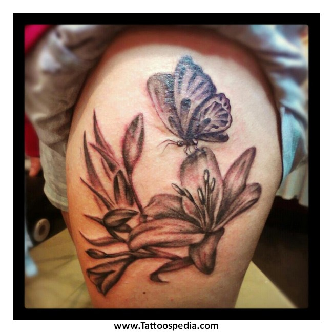 butterfly tattoos buttocks 3