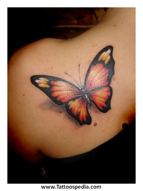 butterfly tattoos buttocks 4