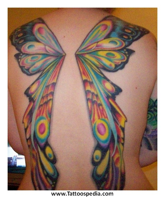 butterfly tattoos names wings 4