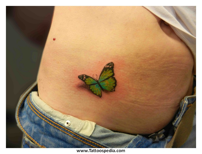 green and blue butterfly tattoo the image kid has it. Black Bedroom Furniture Sets. Home Design Ideas