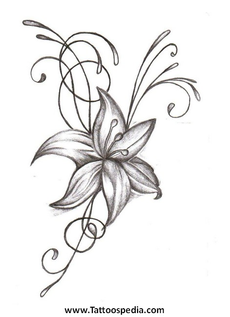 Lotus Flower Tattoo With Butterfly 3