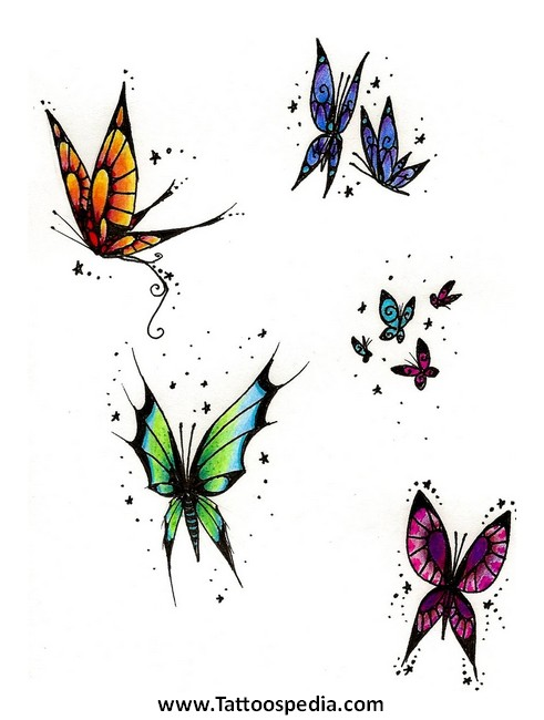 small butterfly tattoo designs download 6. Black Bedroom Furniture Sets. Home Design Ideas