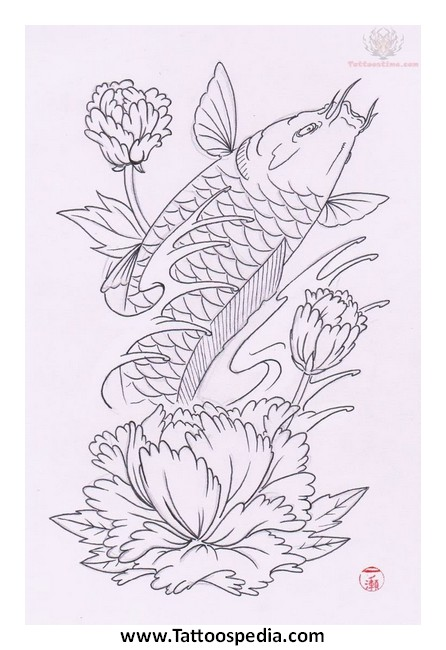 Butterfly koi tattoo designs 3 for Butterfly koi tattoo