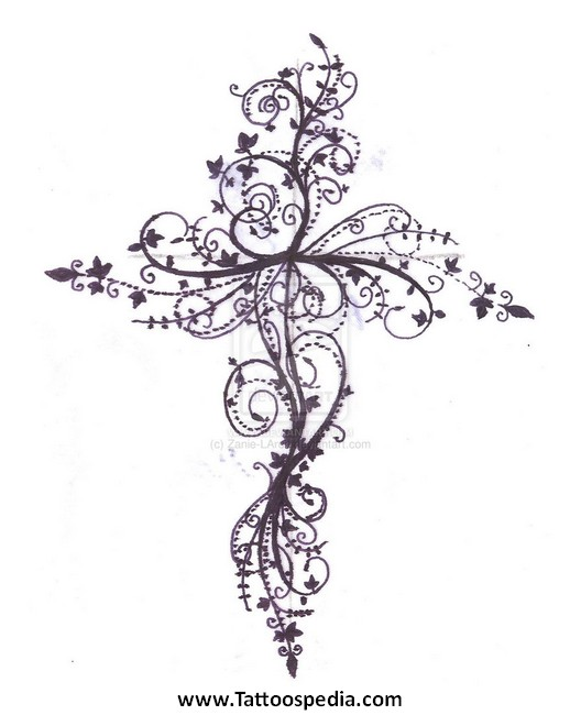 Celtic cross tattoos with roses peace sign tattoos tumblr for Celtic cross with roses tattoo designs