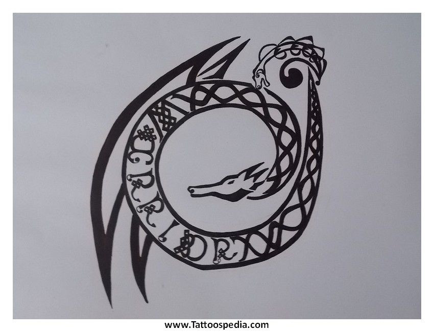 Warrior Symbol Tattoo Designs Celtic Warrior Symbol TattooUltimate Warrior Symbol Tattoo