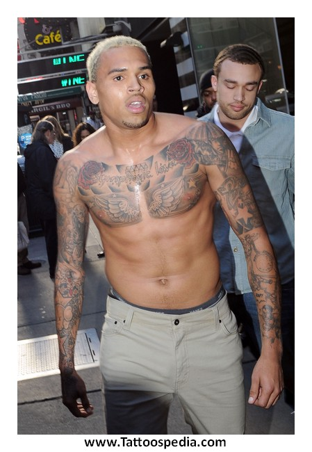 the gallery for gt what does chris brown chest tattoo say
