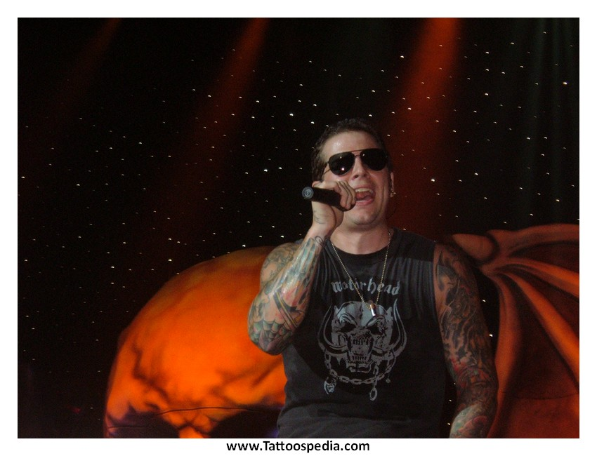 M Shadows Tattoos Four Horsemen The gallery for -->...