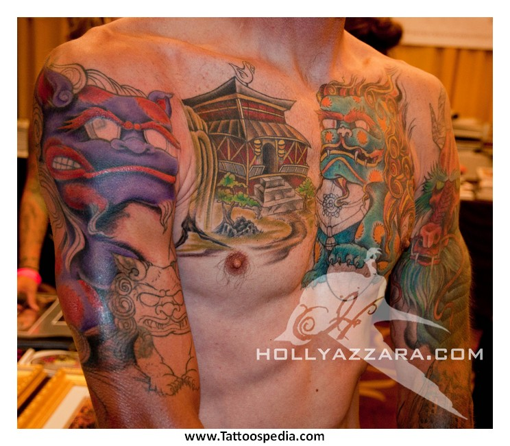 Tattoo cover up on chest 5 for Chest cover up tattoos
