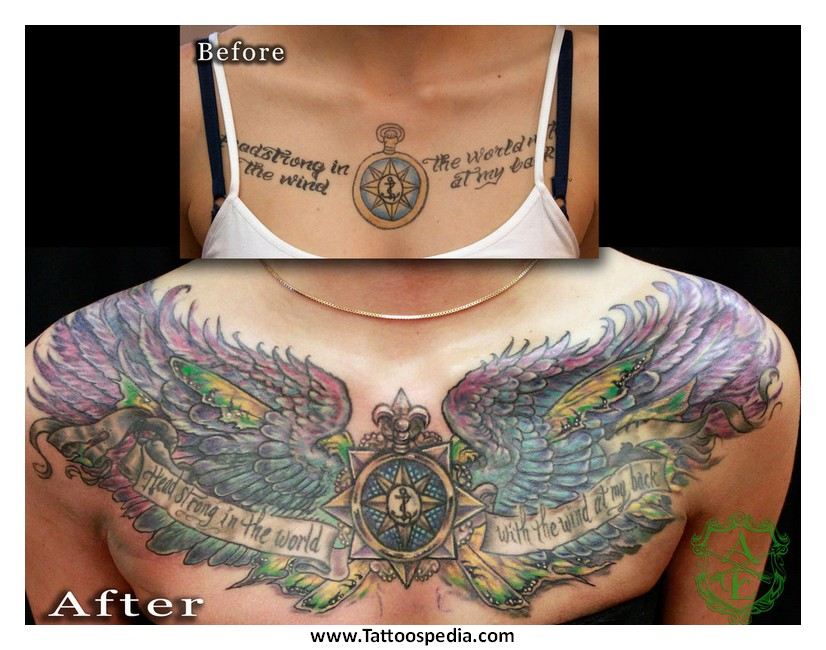 are chest tattoos easy to hide 3
