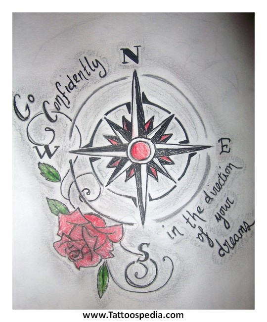 Compass Tattoo Quotes 3 |