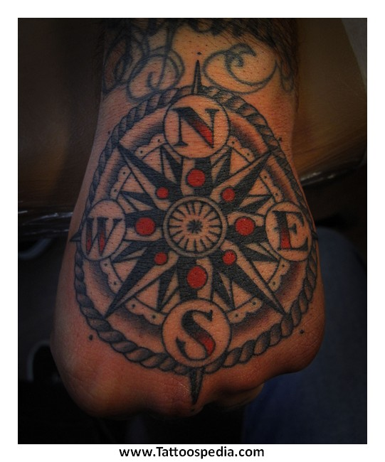 Nautical Compass Tattoos Meaning 1