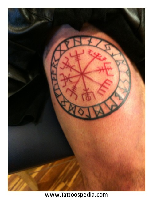 Nordic compass tattoo meaning 6 for Nordic tattoos and meanings
