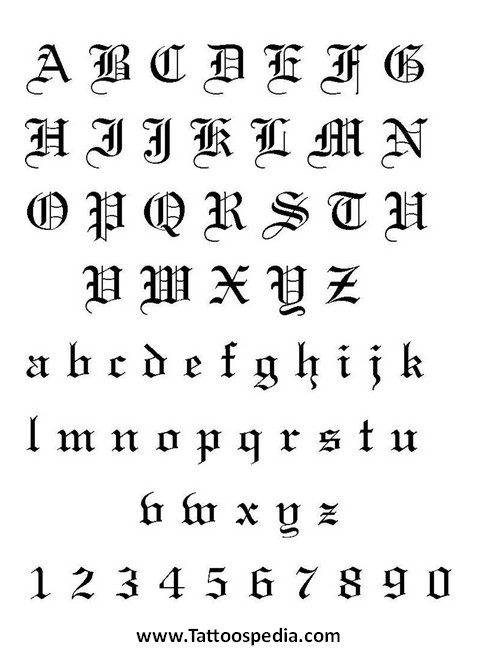 Cool Letter Designs For Tattoos Cool tattoo designs letters 5