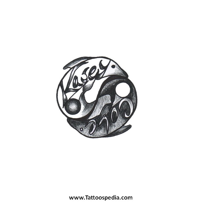 Couples tattoos for Yin yang couples tattoos