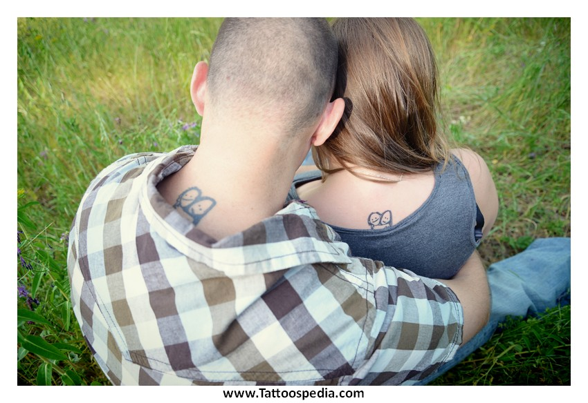 Married couple tattoos gallery 2 for Married couple tattoos