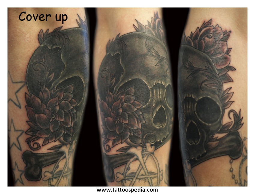 Cover up tattoos black and grey 1 for Dark tattoo cover up