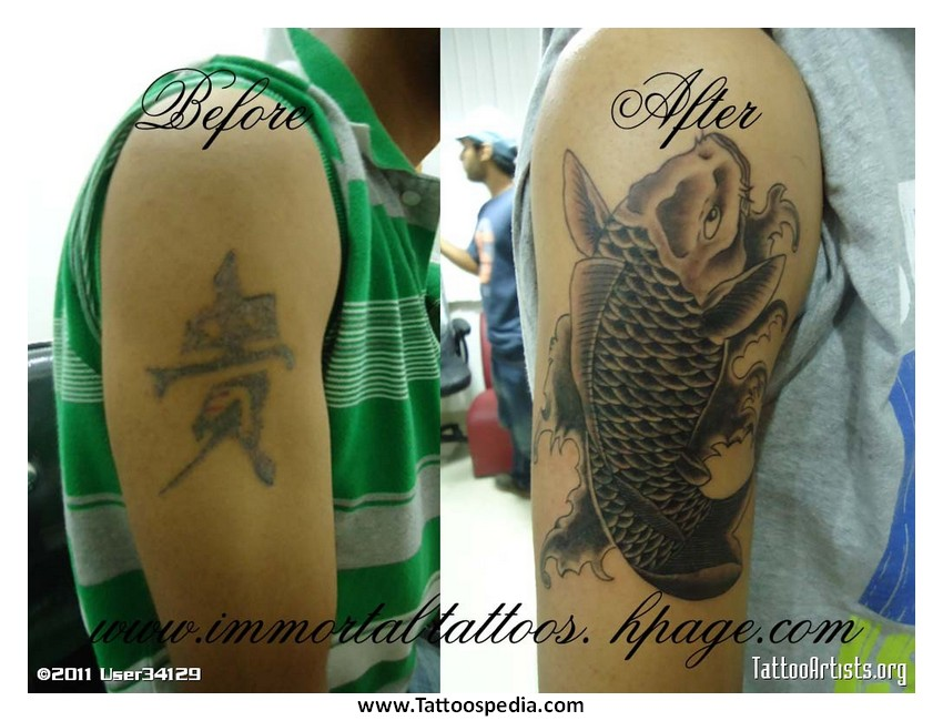 Cover Up Tattoos Chinese Symbols 2