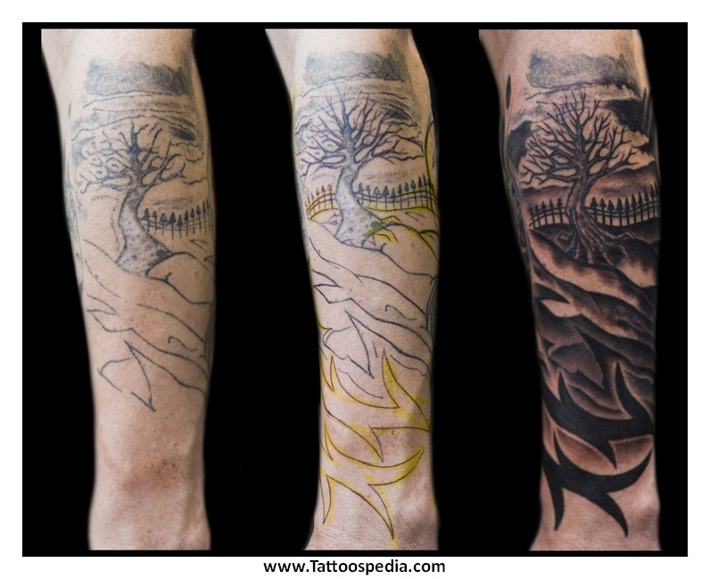 Forearm Cover Up Tattoos For Men 1 |