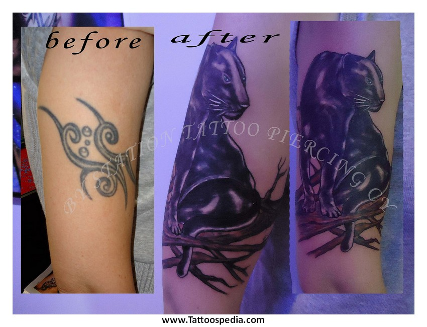 Tattoo cover up black 2 for Dark tattoo cover up