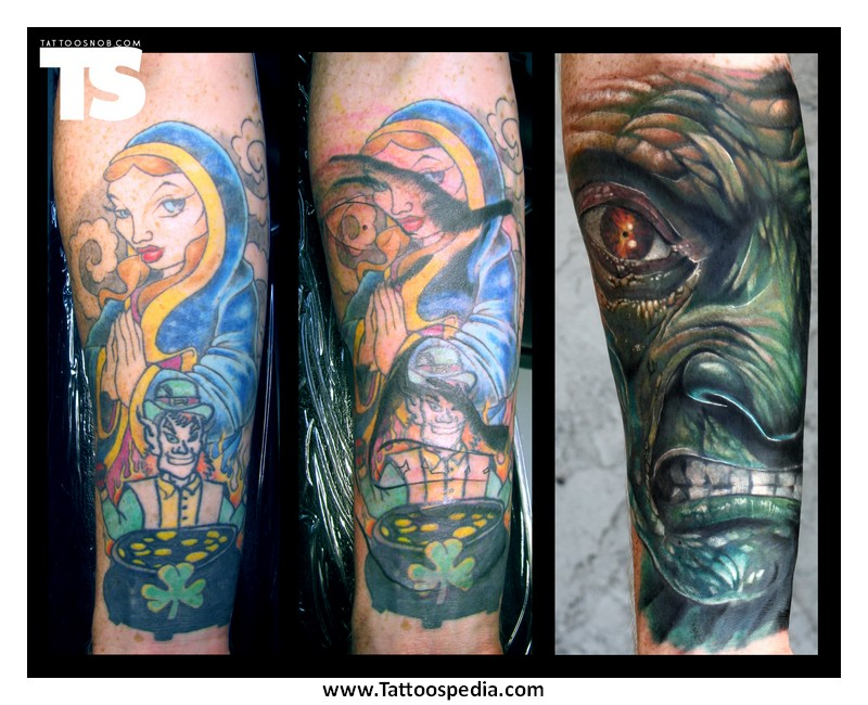 Tattoos Cover Up Designs 5