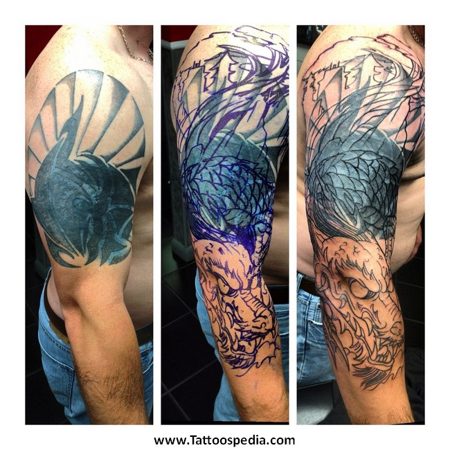 tribal tattoo cover up ideas 3 |