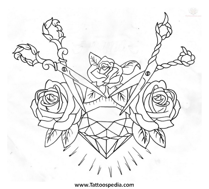 Traditional Diamond Outline | www.imgkid.com - The Image ...