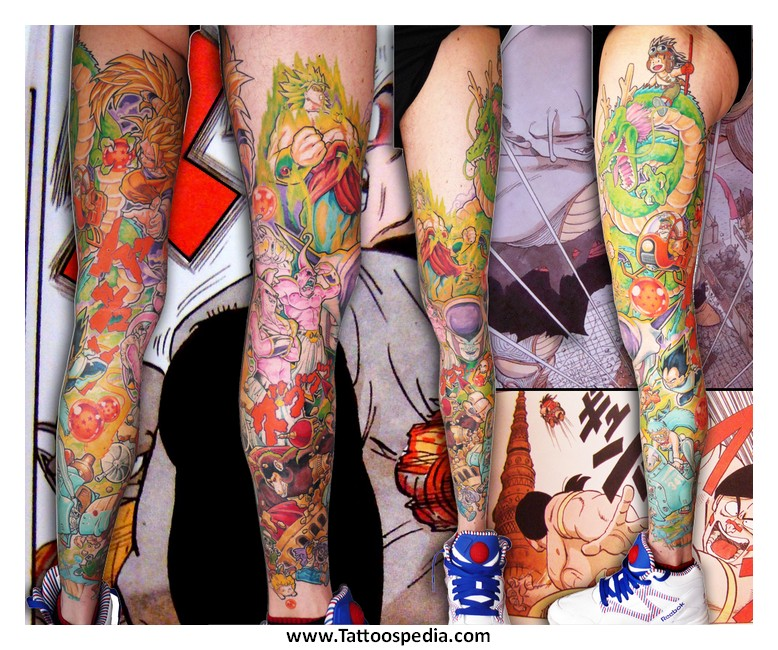 Search results for Dragon ball z tattoo ideas
