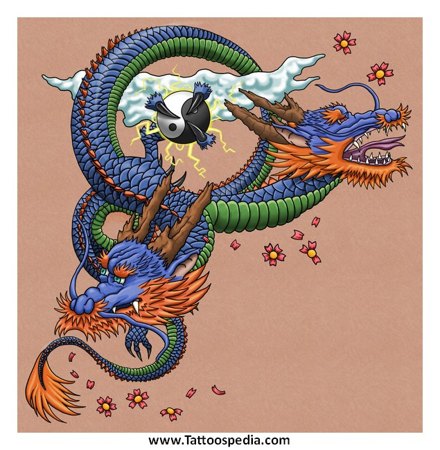 Dragon Tattoo Japanese Meaning 1