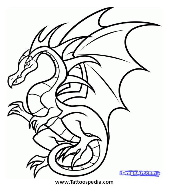Dragon Tattoos For Kids 8 |