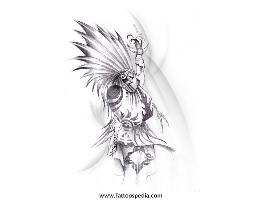 Native American Indian Tattoos Designs