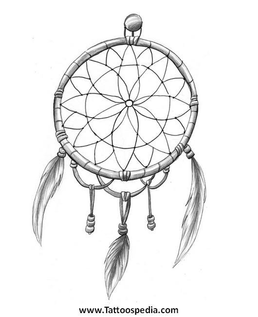 dream catcher tattoo template tony baxter