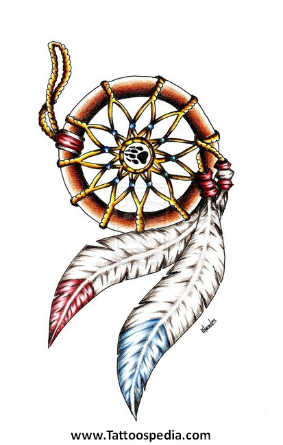 ... %20Tattoo%20Meaning%206 Native American Dreamcatcher Tattoo Meaning 6