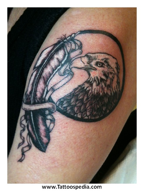 Tony baxter for Feather tattoo meaning native american