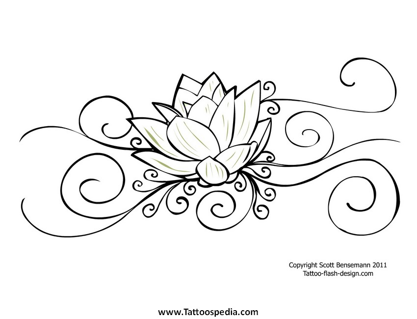Egyptian Lotus Flower Tattoo Meaning 6