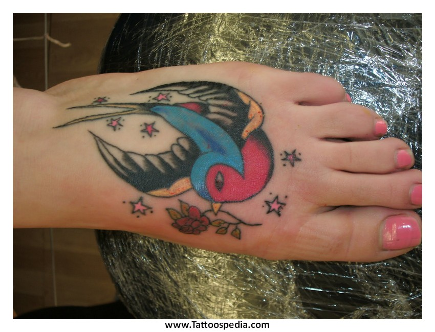Foot tattoos how painful 5 for How sore is a tattoo on your foot