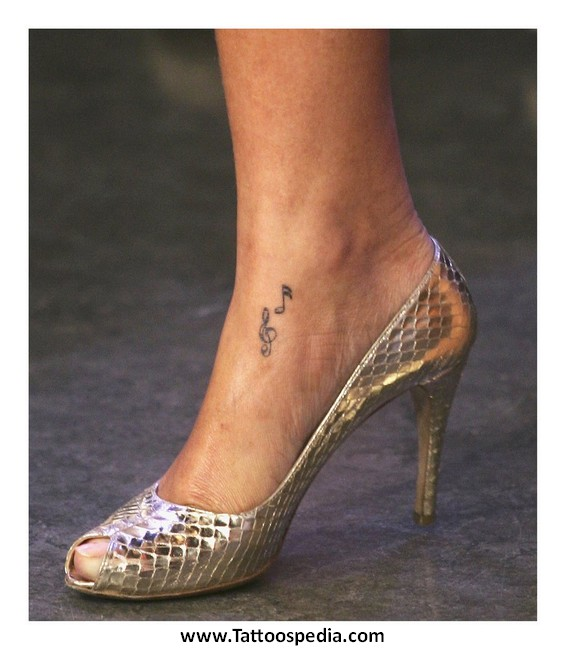 Small tattoo designs for women on foot 8 for Small tattoos for women on foot