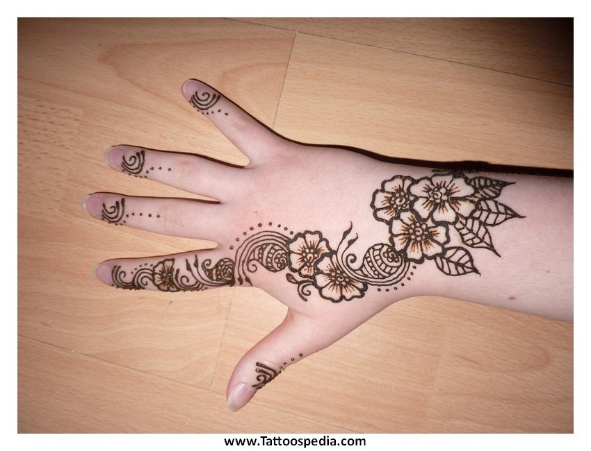 Henna Tattoo Easy Designs 5