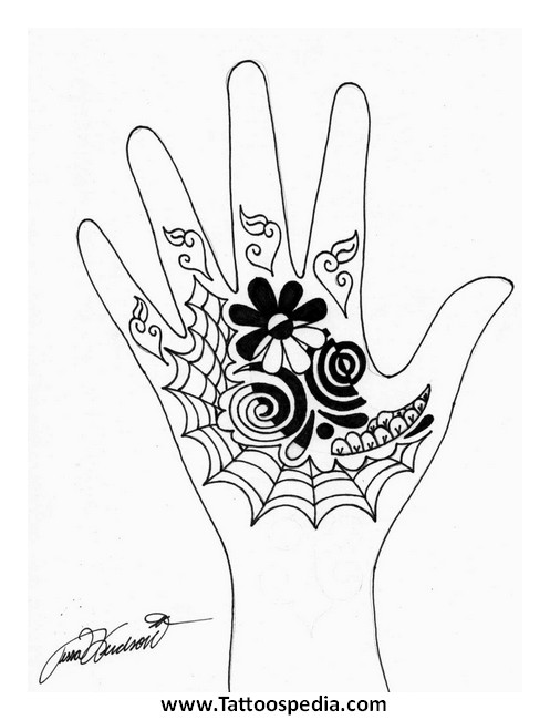 Henna Tattoo Templates 2 » Henna Tattoo Tips 6