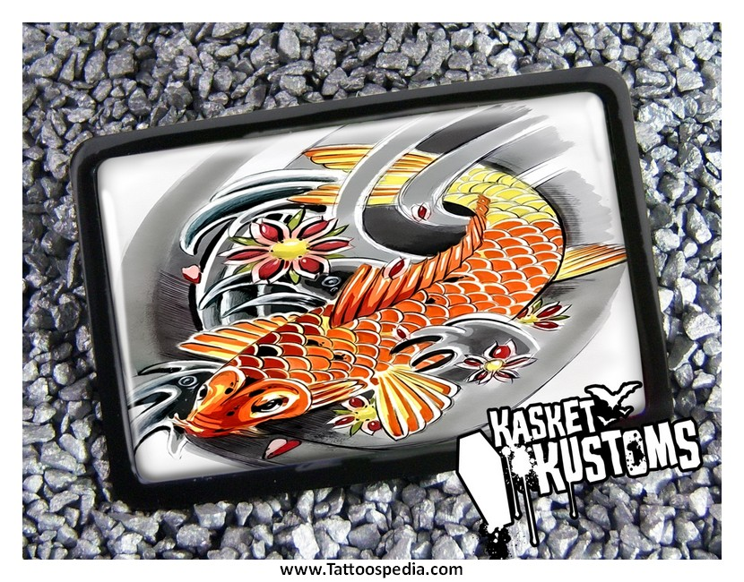 koi fish tattoo price range 2
