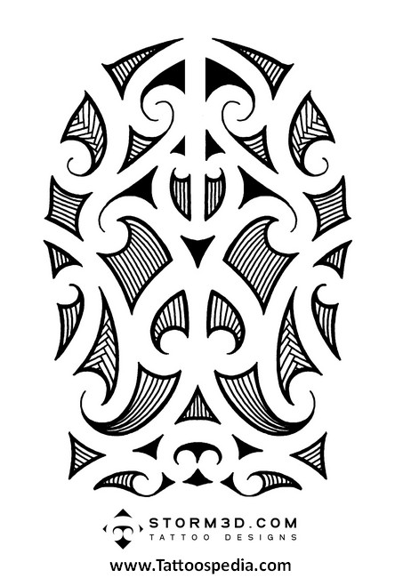 Maori Tattoo Symbols And Their Meanings 4